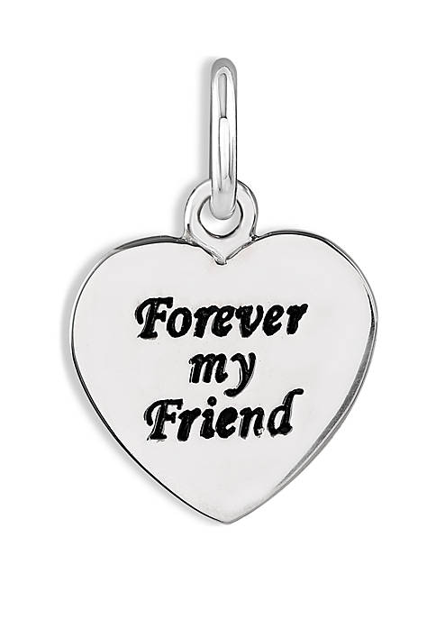 Belk Silverworks Southern Charm Forever My Friend Charm