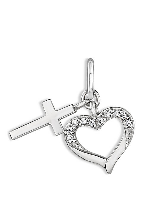 Belk Silverworks Southern Charm Sterling Silver Heart and