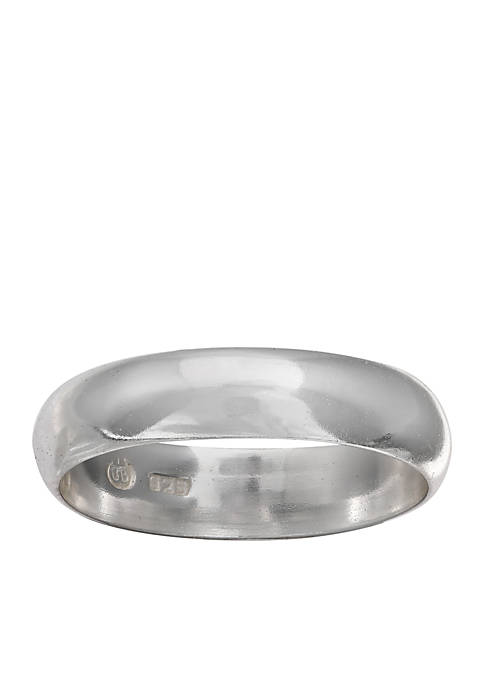 Belk Silverworks Simply Sterling Silver Polished Ring