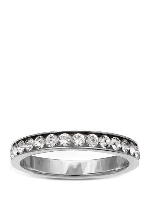 Belk Silverworks Cubic Zirconia Sterling Silver Ring