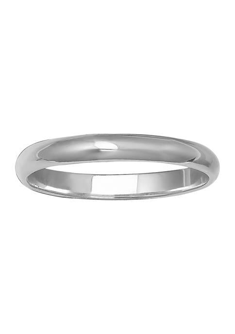 Belk & Co. Polished Band Ring