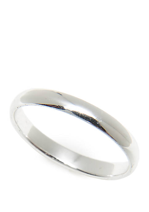 Polished Half Rounded Ring