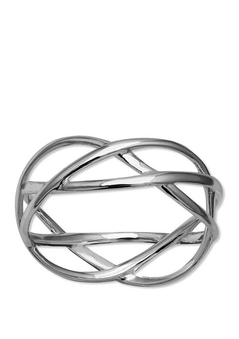 Crossover Band Ring