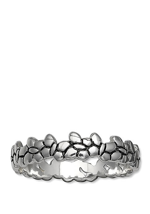 Polished Butterflies Band Ring