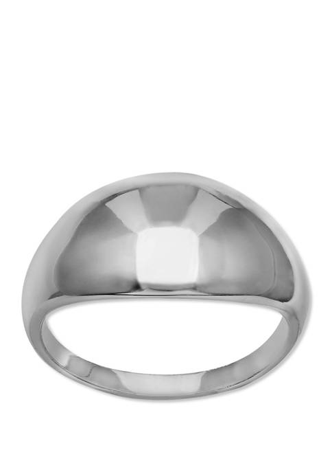 Polished Dome Ring