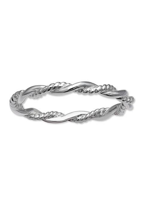 Belk Silverworks 2.2 Millimeter Twisted Ring