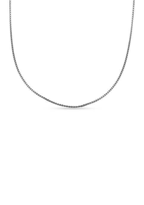 Belk Silverworks Sterling Silver Korean Chain Necklace