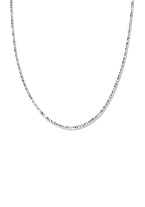 Belk Silverworks 0.35 Gauge Figaro Chain