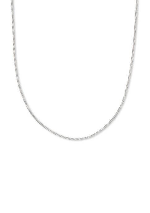 Belk Silverworks 025 Gauge 18 Inch Curb Chain