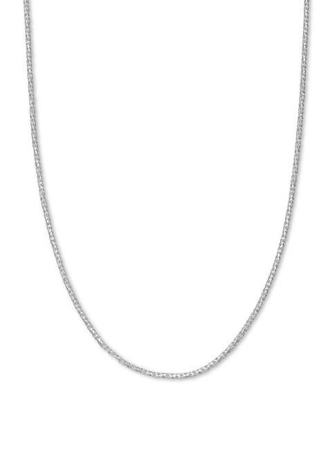 20 Inch Sparkle Chain Necklace