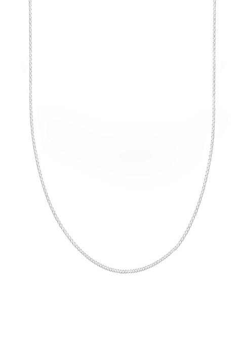 Belk Silverworks Box Chain Necklace