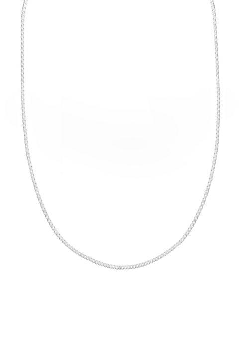 Belk Silverworks Box Chain Necklace