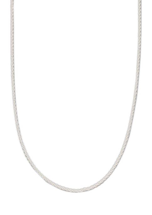 Belk Silverworks 20 Inch Sterling Silver Diamond Cut