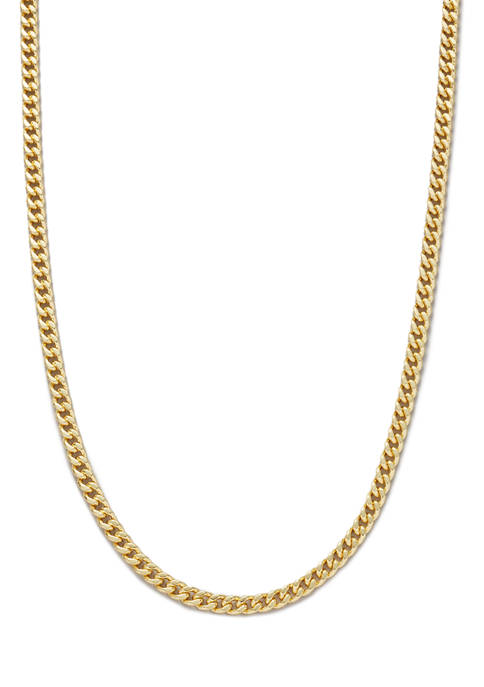 Belk Silverworks 20 Inch Gold Tone Curb Chain