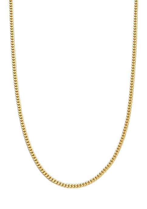 Belk Silverworks 18 Inch Chain Necklace in 14K
