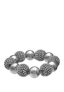 Ball Sparkle On Stretch Bracelet