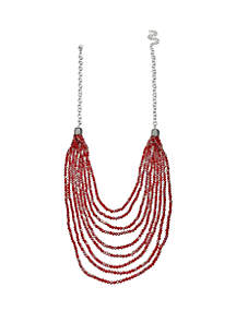 Jules B Layered Facet Bead Necklace