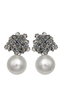 Heaven Sent Pearl Drop Earrings