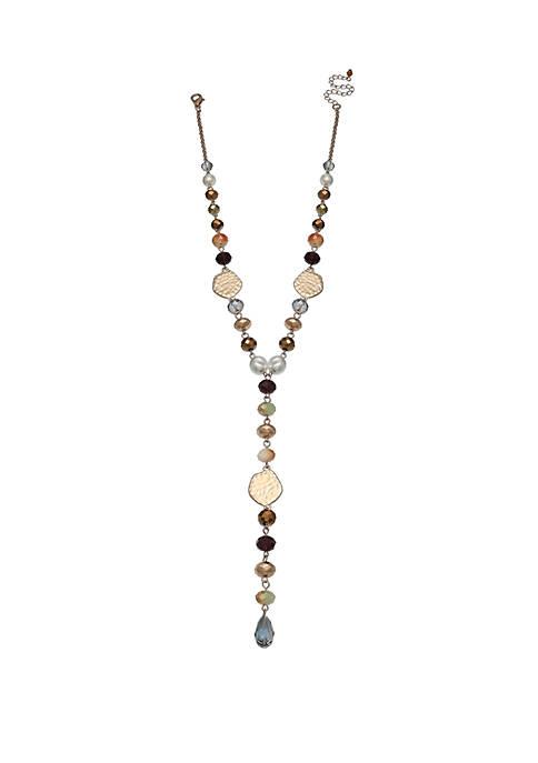 Milli by Jules B Multicolor Y Necklace