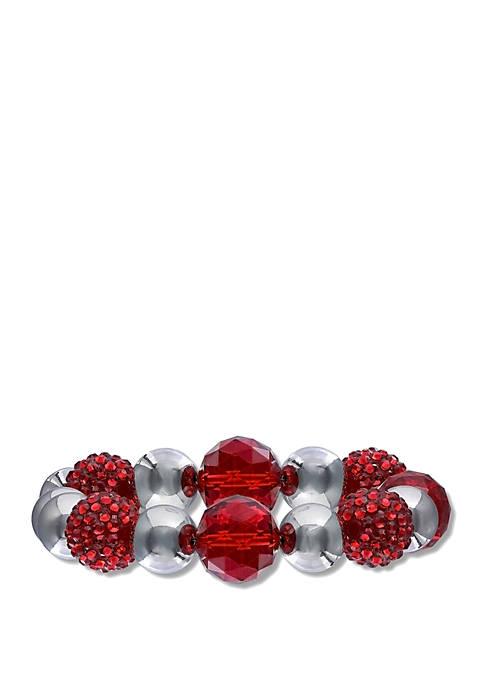 Jules B Red Hot! Fireball Bracelet