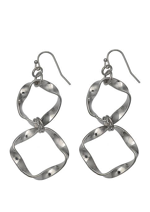 Jules B Heaven Sent Twist Drop Earrings