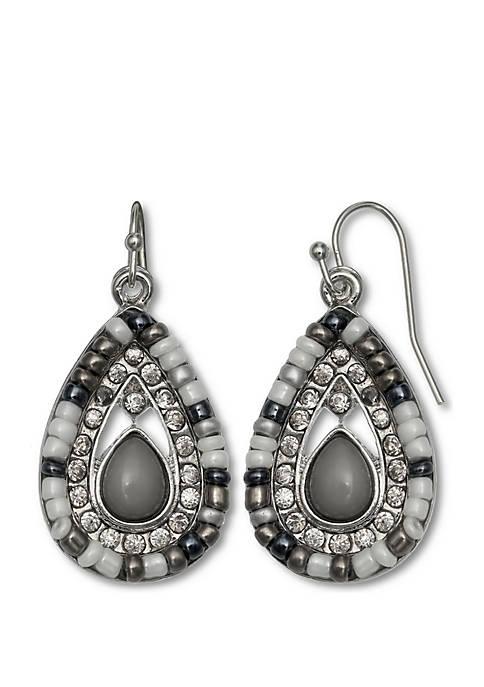 Jules B Beaded Teardrop earrings