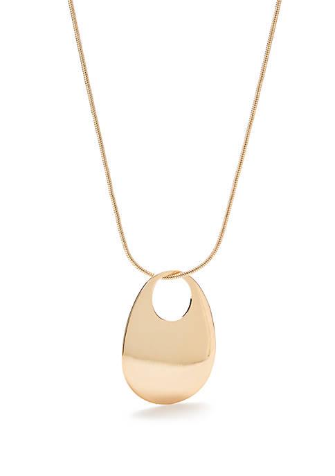 Kim Rogers® Open Circle Pendant Necklace