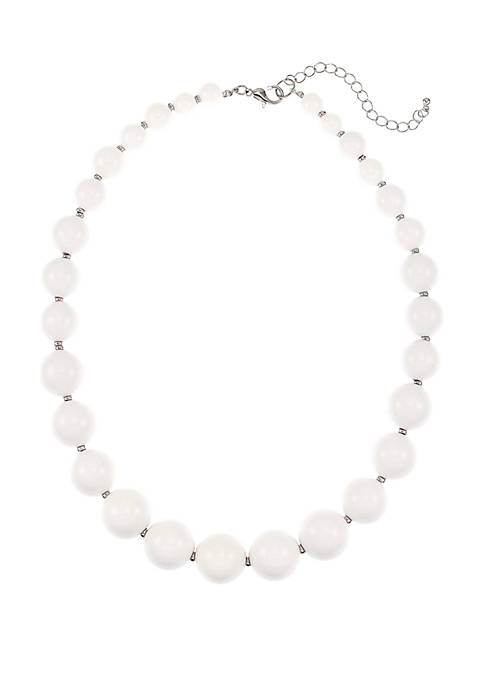 Kim Rogers® Short Graduated Beaded Necklace