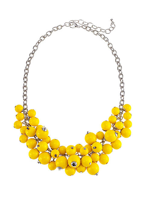 Kim Rogers® Short Shaky Bead Cluster Necklace
