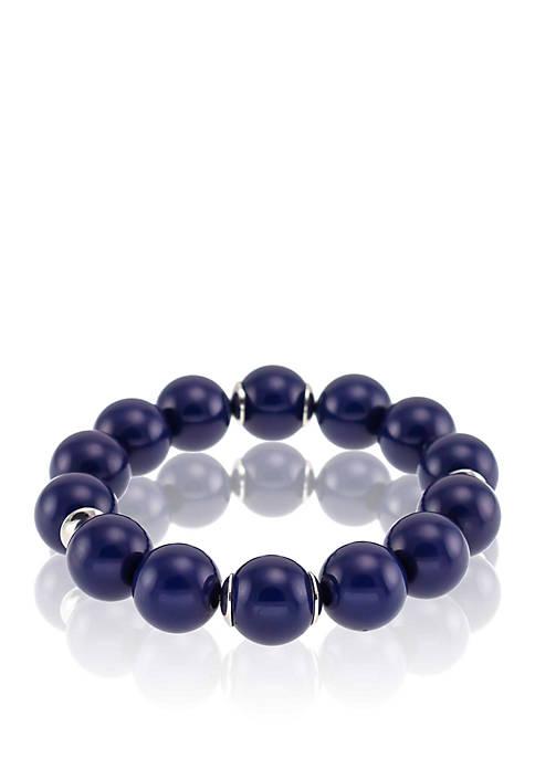 Kim Rogers® Single Row Beaded Stretch Bracelet