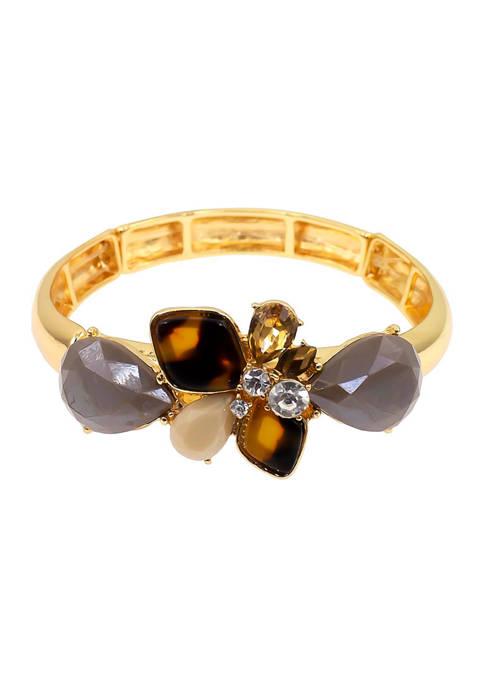 Kim Rogers® Tortoise Stretch Bangle Bracelet