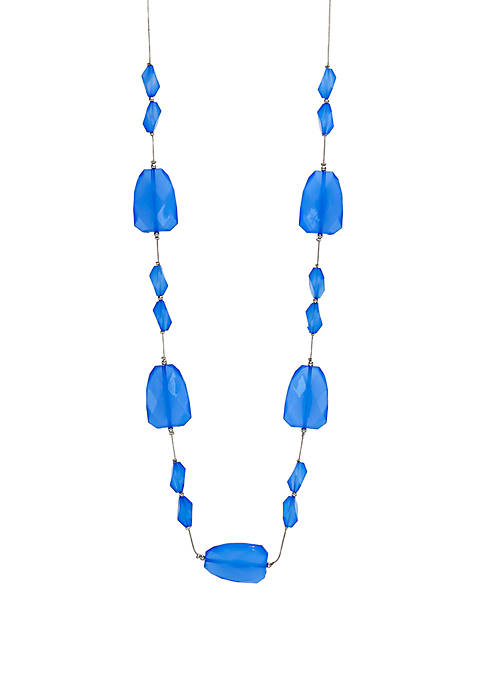 Kim Rogers® Long Beaded Illusion Necklace