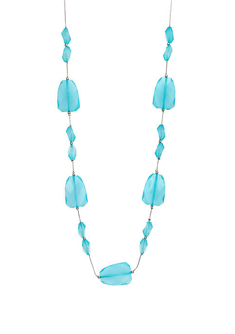 Long Row Illusion Necklace