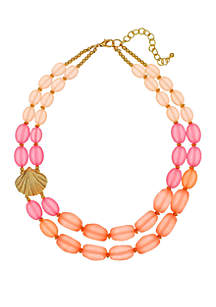 Kim Rogers® 2 Row Beaded Necklace