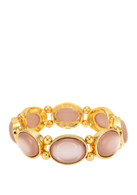 Kim Rogers® Pink Single Row Stretch Bracelet
