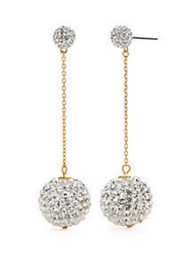 Linear Fireball Earrings