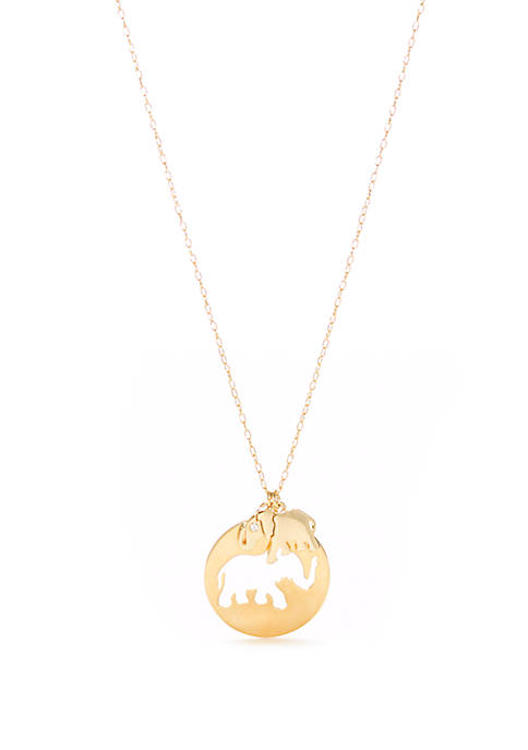 kate spade new york® Animal Pendant Necklace