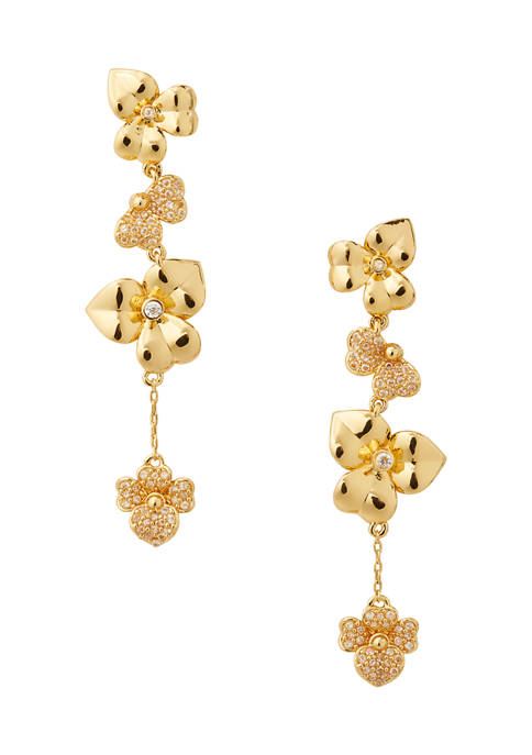 kate spade new york® Precious Pansy Pavé Linear