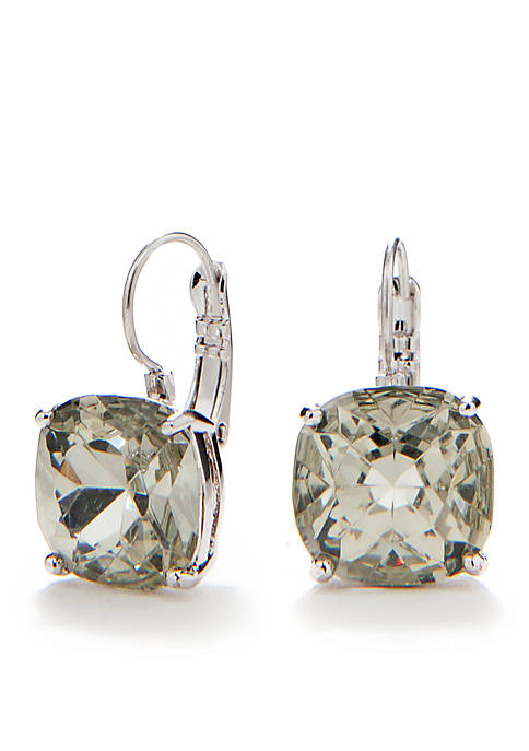 kate spade new york® Small Square Leverback Earrings