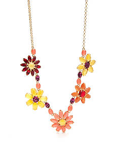 kate spade new york® Gold-Tone Brilliant Bouquet Statement Necklace