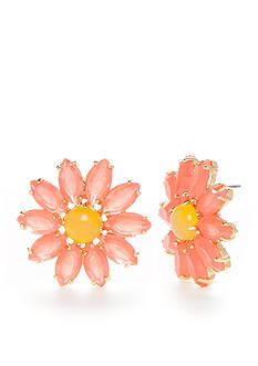 kate spade new york® Flower Stud Earrings