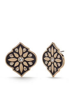 kate spade new york® Gold-Tone Moroccan Tile Statement Stud Earrings