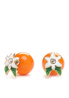kate spade new york® Citurs Crush Front and Back Earrings