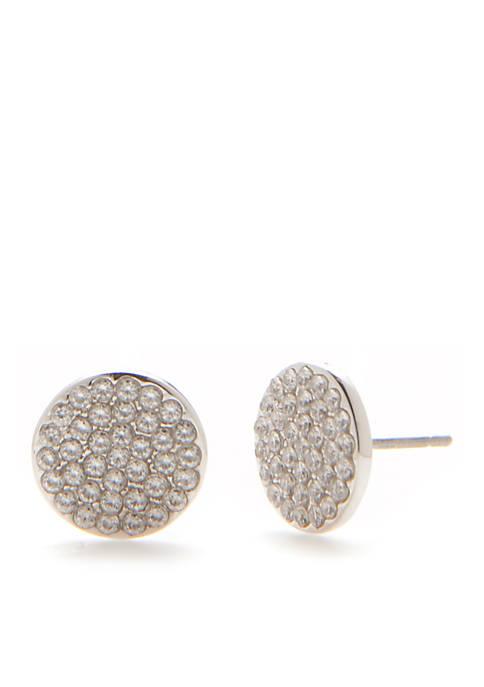 Shine On Pave Stud Earrings