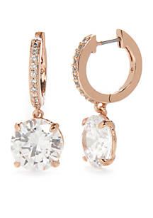 Kate Spade New York Rose Gold Tone Bright Ideas Drop Earrings