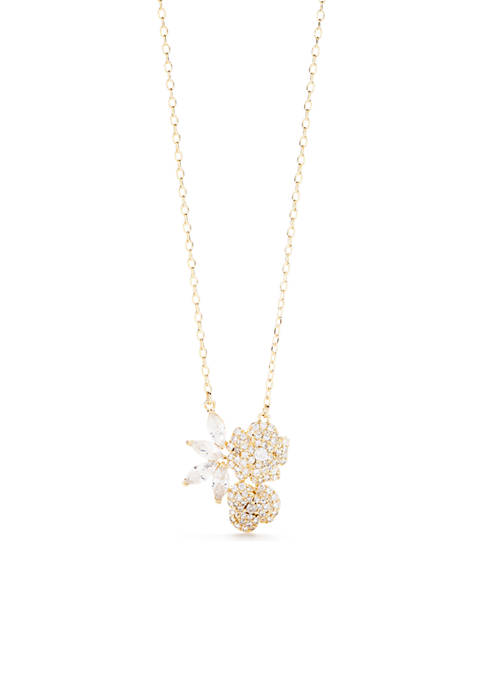 kate spade new york® Gold-Tone Mini Pendant Necklace