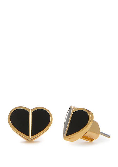 kate spade new york® Small Heart Stud Earrings