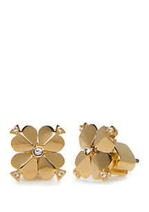 kate spade new york® Spade Flower Stud Earrings