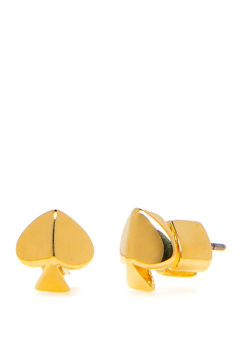 kate spade new york® Gold Tone Spade Stud