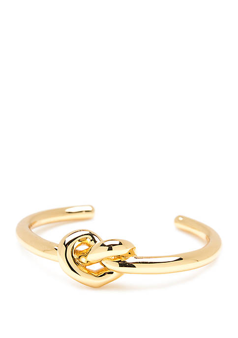 kate spade new york® Loves Me Knot Cuff